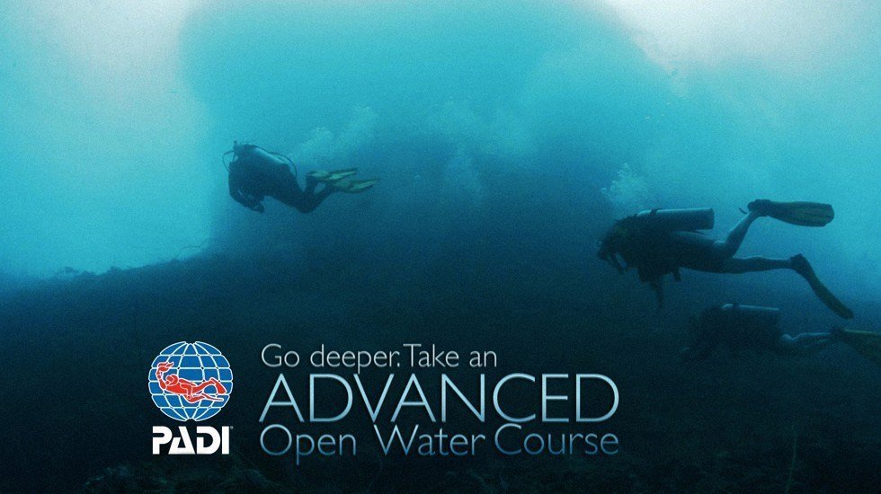 padi advanced openwater diver komodo